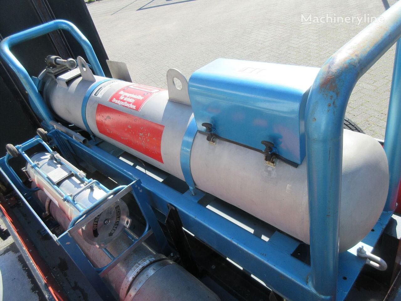 пожарная насосная станция Feuerwehr Bergungsbehälter mit Anhänger