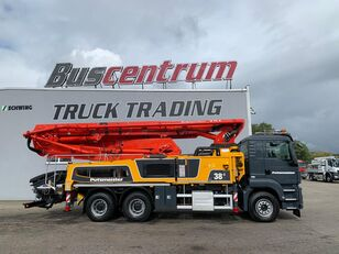 автобетононасос Putzmeister BSF на шасси MAN TGS 26.400 6x4 Putzmeister 38-5 m / Top Pump / German Truck