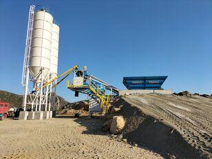новый бетонный завод PROMAX Mobile Concrete Batching Plant M60-SNG
