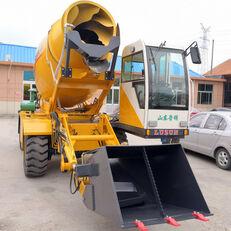 новый колесный экскаватор LUZUN selfloading concrete mixer
